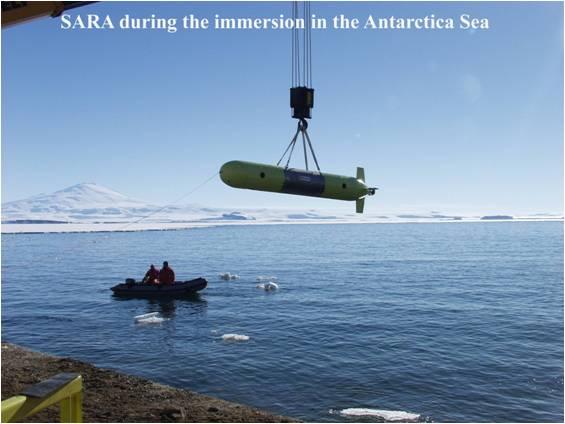 Robot sottomarino SARA