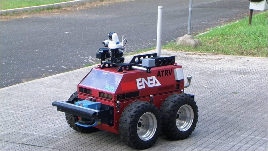 Robot terrestre Prassi